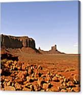 Utah's Iconic Monument Valley Canvas Print