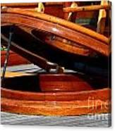 Vancouver Bc Classic Boats Canvas Print