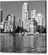 Vancouver Bc Downtown Skyline Canvas Print