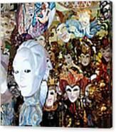 Venetian Masks 2 Canvas Print