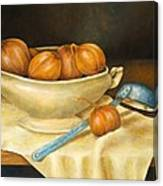 Venetian Table Canvas Print