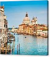 Venice At Sunset Canvas Print