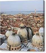 Terracotta Skyline Venice Italy Canvas Print
