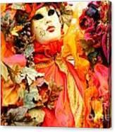 Venice Masks - Carnival Canvas Print