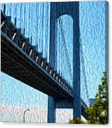 Verrazano Bridge Canvas Print