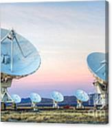 Very Large Array Of Radio Telescopes  Canvas Print