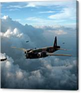 Vickers Wellingtons With 16 Otu Canvas Print