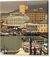 Victoria And Albert Waterfront Canvas Print