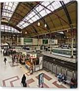 Victoria Railway Station London  Canvas Print