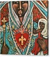 Vierge Noire De Paris Canvas Print
