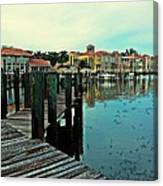View From The Boardwalk  Canvas Print