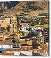 View Of The Town Loja In Granada Province Canvas Print