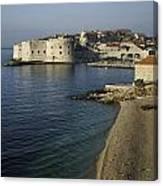 Views Of Dubrovnik Old Town Croatia Canvas Print