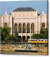 Vigado Concert Hall In Budapest Canvas Print
