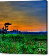 Vigilant- The Iron Horse Canvas Print
