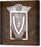 Vignale Emblem Canvas Print