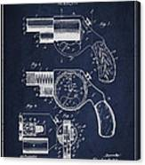 Vintage Pistol Patent From 1892 Canvas Print