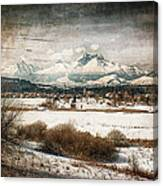 Vintage Village Canvas Print