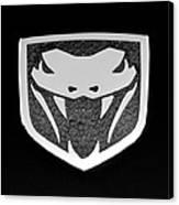Viper Emblem Canvas Print