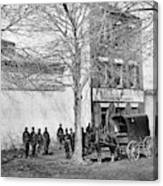 Virginia Slave Dealer Canvas Print