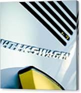 Volkswagen Vw Emblem Canvas Print
