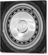 Volkswagen Vw Wheel Emblem Canvas Print