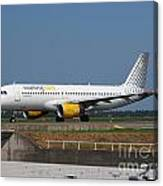 Vueling Airbus A320 Canvas Print