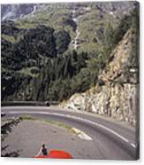 Vw In Susten Pass Canvas Print