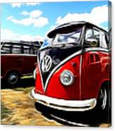 Vw Micro Bus Canvas Print