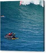 Waimea Bay Takeoff Canvas Print