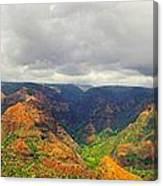 Waimea Canyon Canvas Print