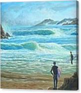 Wait For It---wait For It Canvas Print