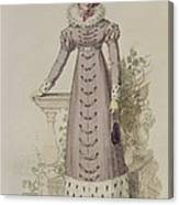 Walking Dress, Fashion Plate Canvas Print