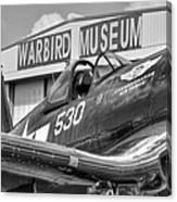 Warbird Museum Canvas Print