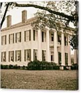 Warren Stone House In Alabama Canvas Print