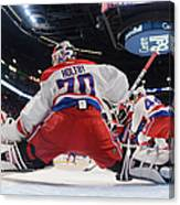 Washington Capitals V Montreal Canadiens Canvas Print