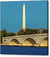 Washington D.c. - Memorial Bridge Spans Canvas Print