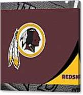 Washington Redskins Canvas Print
