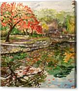 1-watercolor Landscapes Canvas Print