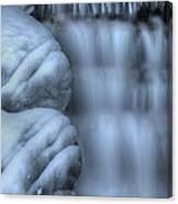 Waterfall Near Johnston Canyon Alberta Canvas Print