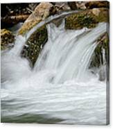 Waterfall - Zion National Park Canvas Print