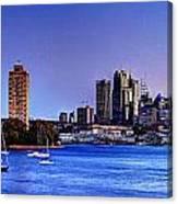 Waverton Sydney Canvas Print