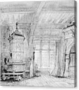 Weber Der Freischutz, 1821 Canvas Print