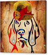 Weimaraner Collection Canvas Print