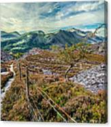 Welsh Mountains Canvas Print