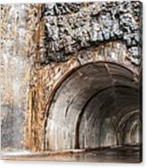 West Tunnel On Going To The Sun Road Canvas Print