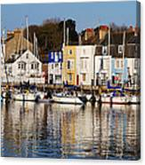 Weymouth In The Water Canvas Print