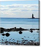 Whaleback Lighthouse Canvas Print