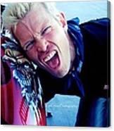 Billy Idol - Whiplash Smile Canvas Print