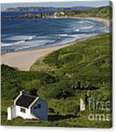 White Park Bay, Ireland Canvas Print